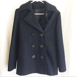 Gorgeous Vintage Navy Pea Coat - Size 10